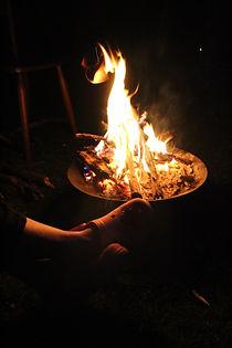 Relaxen bij het kampvuur met Pippin Hike