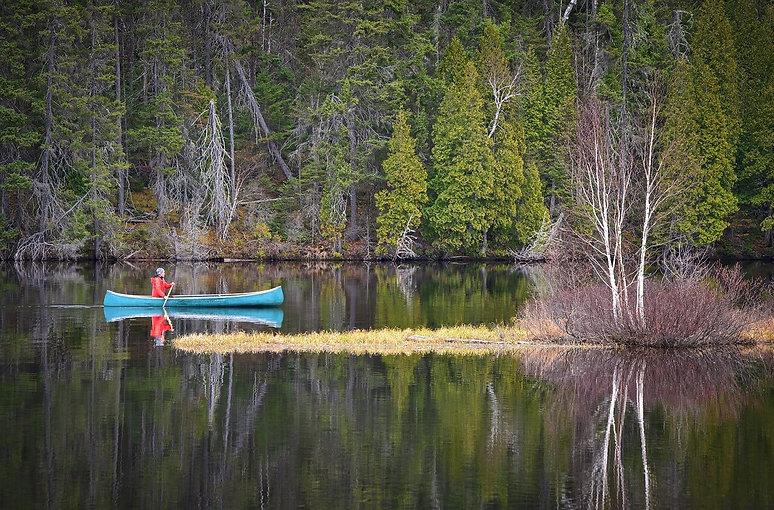 Kano varen in Dalarna Zweden.jpg