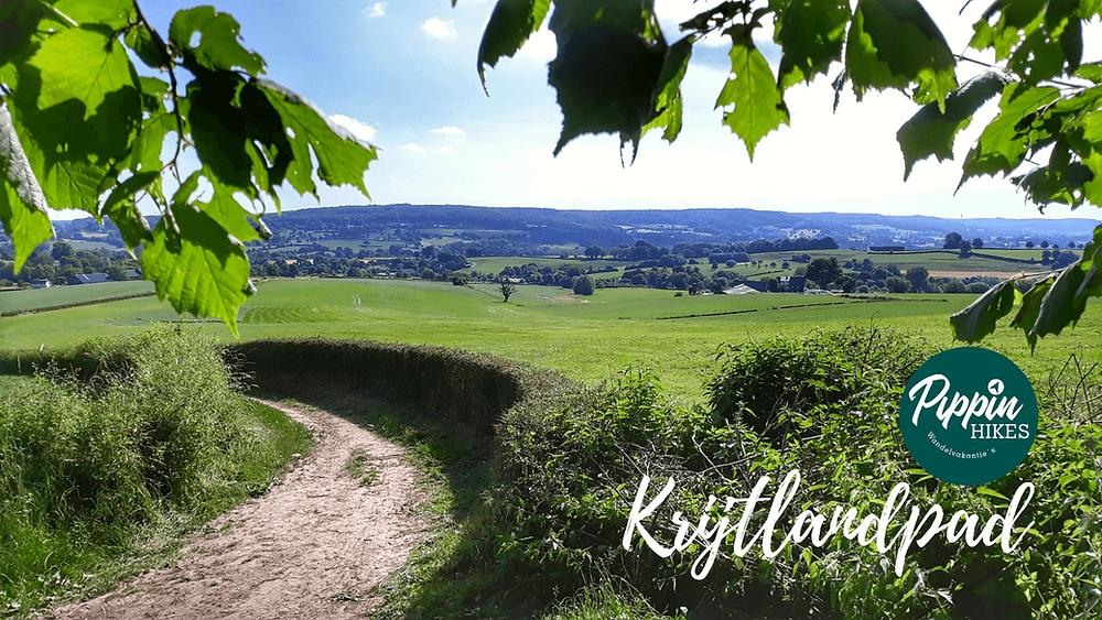 Prachtig uitzicht over de Limburgse heuvels