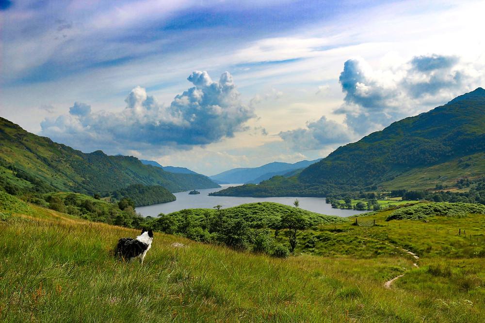 Laatste blik op Loch Lomond
