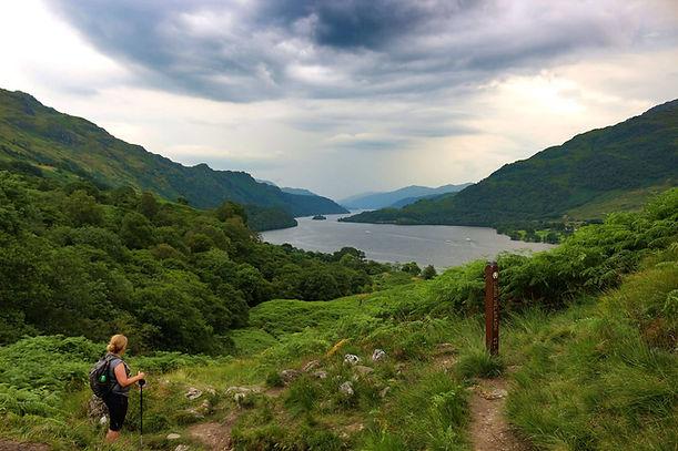 Laatste blik op Loch Lomond Schotland.jp