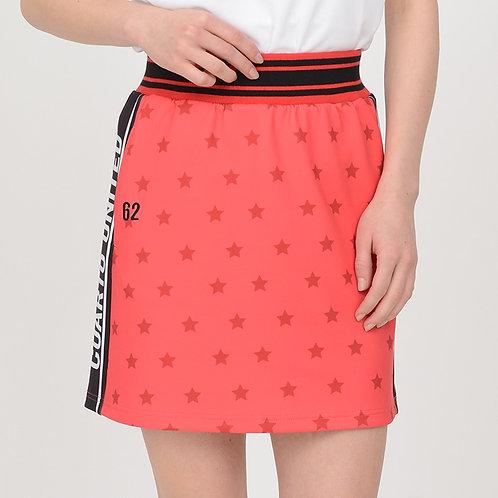 星柄サイドロゴスカート