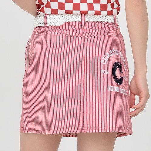 バッグロゴストライプスカート