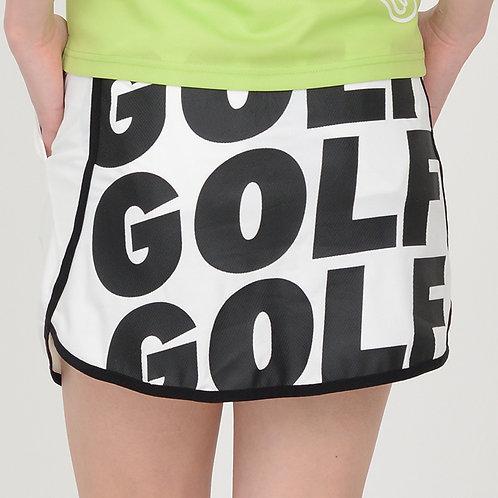 ランニング風パンツスカート