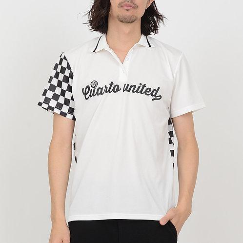 チェッカーフラッグポロシャツ メンズ