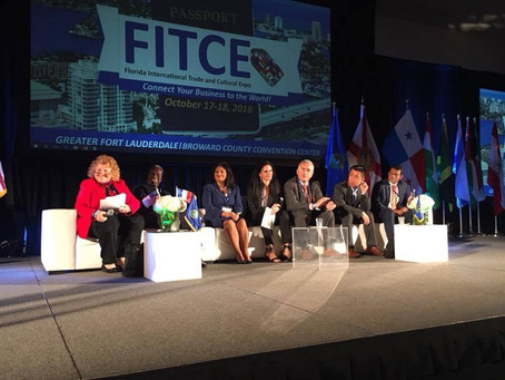 We represented Middle East and North Africa at FITCE 2018