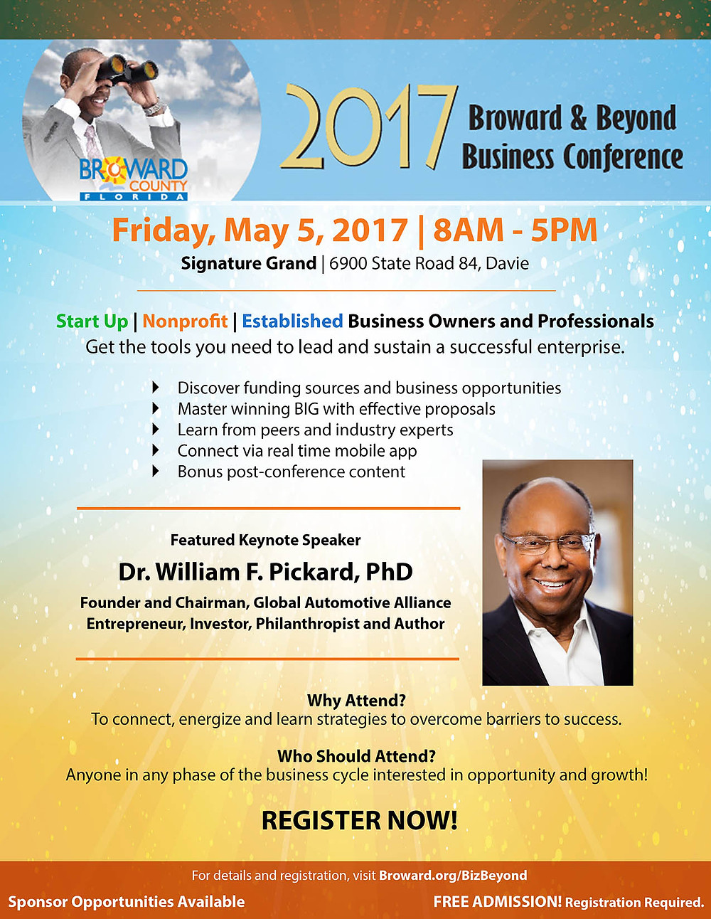 Xpand Now, Doing Business in the Middle East, Broward & Beyond Business Conference.