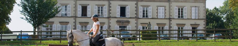 Grande carrière face au Château