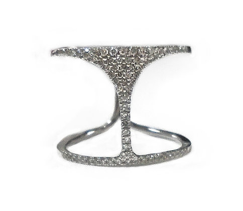Martini Diamond Ring
