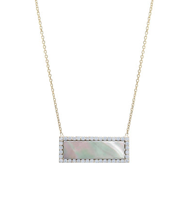 SS Mother of Pearl Necklace