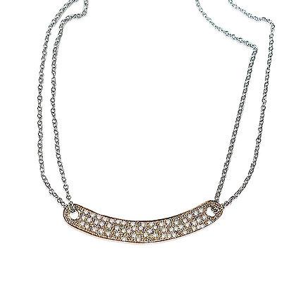 Pave Diamond I.D. Necklace