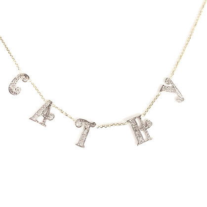 Customizable Classy Name Necklace