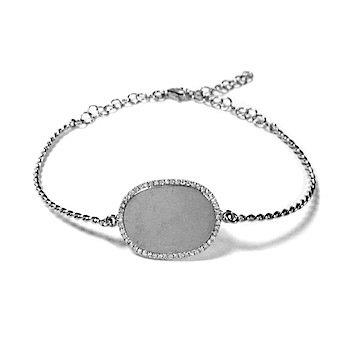 14 KT I.D. Bracelet