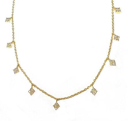 SS Diamond Necklace