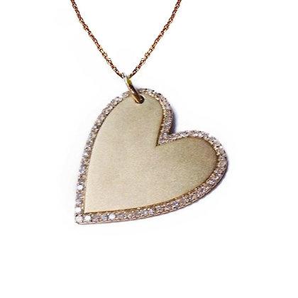 Heart Shape Engrave-able Pendant