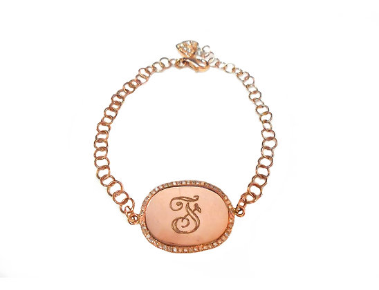Engravable Diamond Bracelet