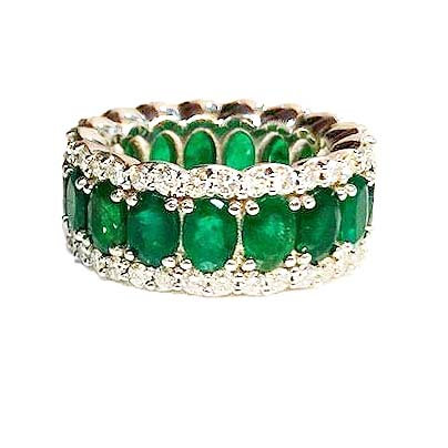 Stunning Emerald Band