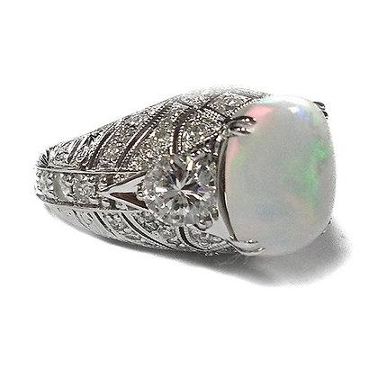 Custom Made Opal Ring