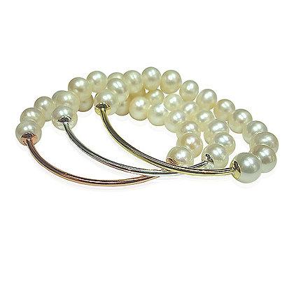 Stretch Pearl Bracelets