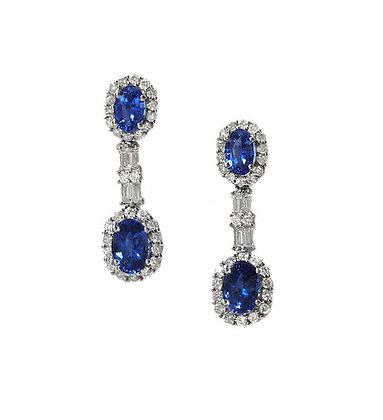 Custom Sapphire Earring
