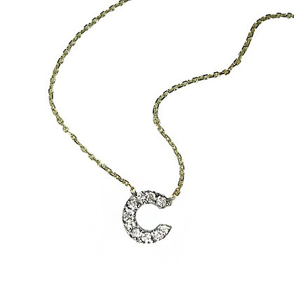 Cute Initial Necklace