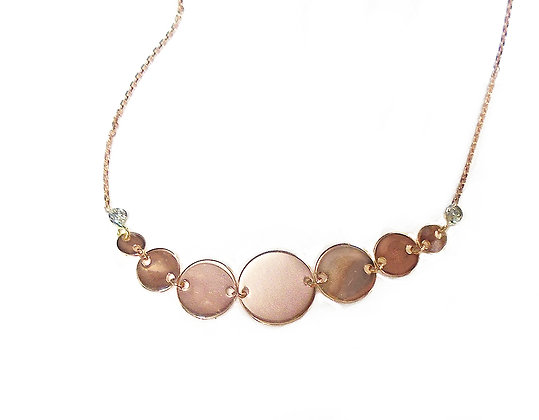 """Dueling Disk"" Necklace"