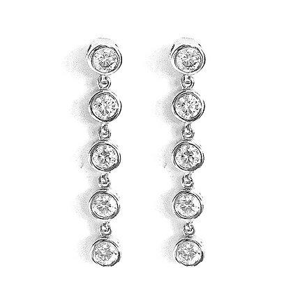 Dangling Bez Set Earrings