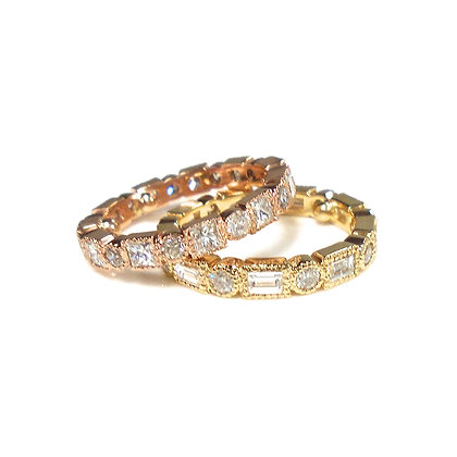 Yellow and Rose Stackables