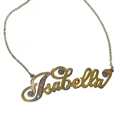 Nameplate with Bling