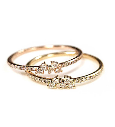 Petite Stackable Wedding Bands