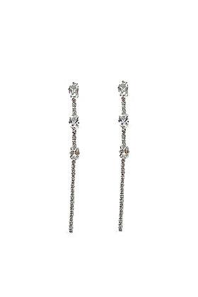 SS Dangle Strip Earrings