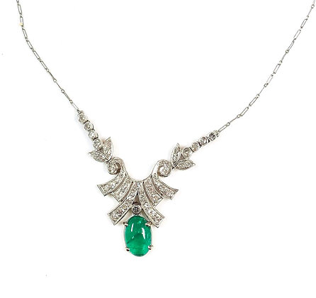 Antique Emerald Necklace