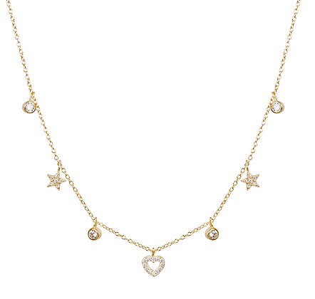 SS Charm Necklace