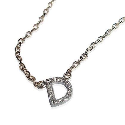 Pave Diamond Initial Bracelet