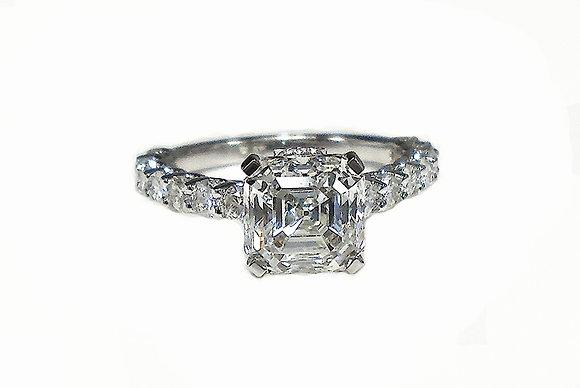 Crystal Clear Asscher