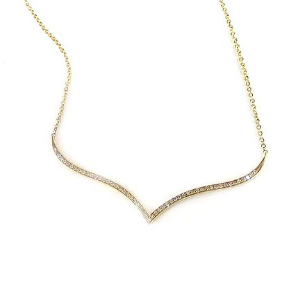 """""""V"""" Necklace"""