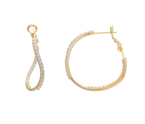 SS Twisted Hoops