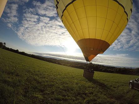 Vol découverte en montgolfière Finistere Ouest Montgolfière