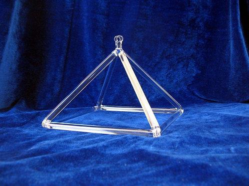 Crystal Singing Pyramid 6 inch