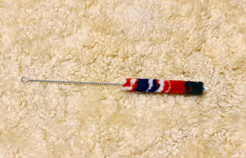 kleiner Putzer für Übungsflöte und Dudelsack / small brush