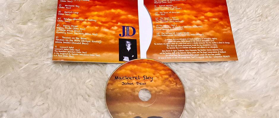 Mackerel Sky CD by John Dew
