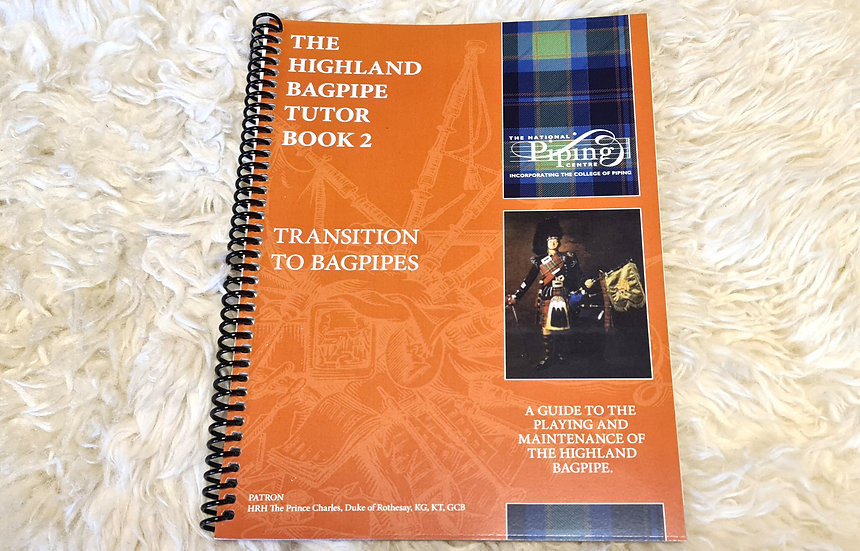 The Highland Bagpipe Tutor Book 2 vom National Piping Centre