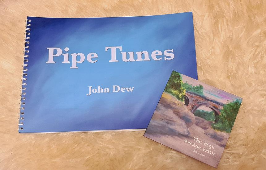 Pipe Tunes by John Dew incl. The Bridge CD