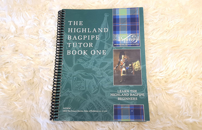 The Highland Bagpipe Tutor Book 1 vom National Piping Centre