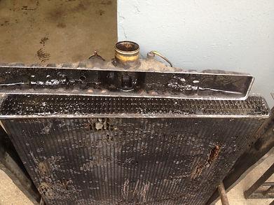 радиатор до промивки
