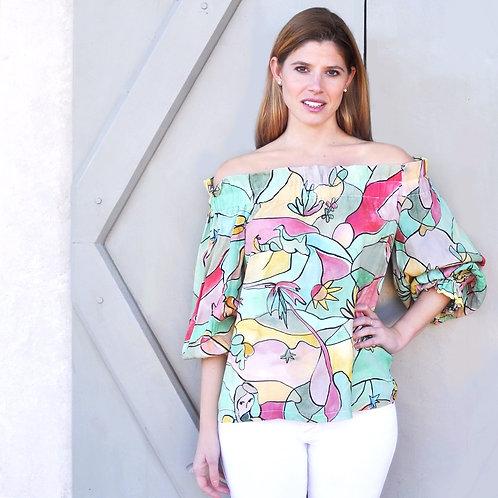 """""""Chagall"""" camicia/shirt"""