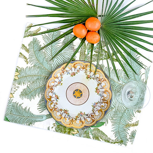 "fabric placemat ""Palms"""