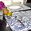"""Thumbnail: fabric placemat """"Santorini"""""""