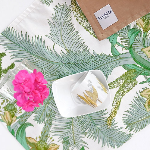 "fabric placemat ""Cycas"""