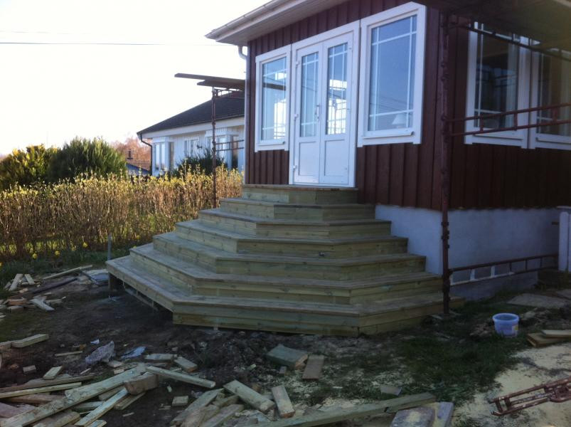 Flerkantig trappa - VXÖ